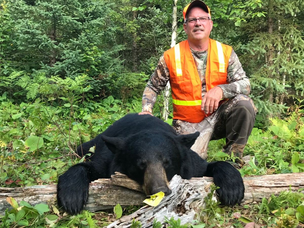Ontario Trophy Black Bear Hunts